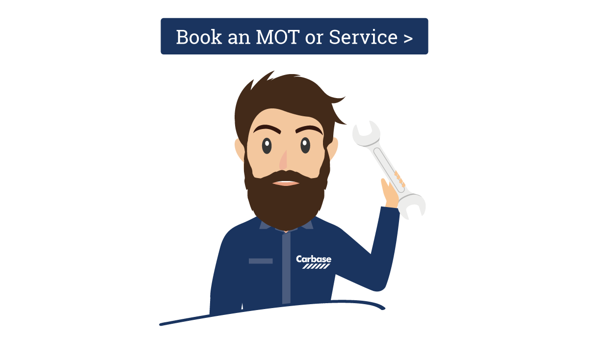 Book an MOT service with Carbase