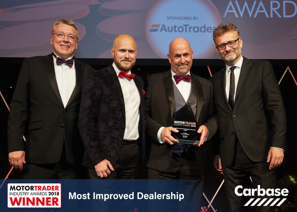 Most Improved Dealership 2018