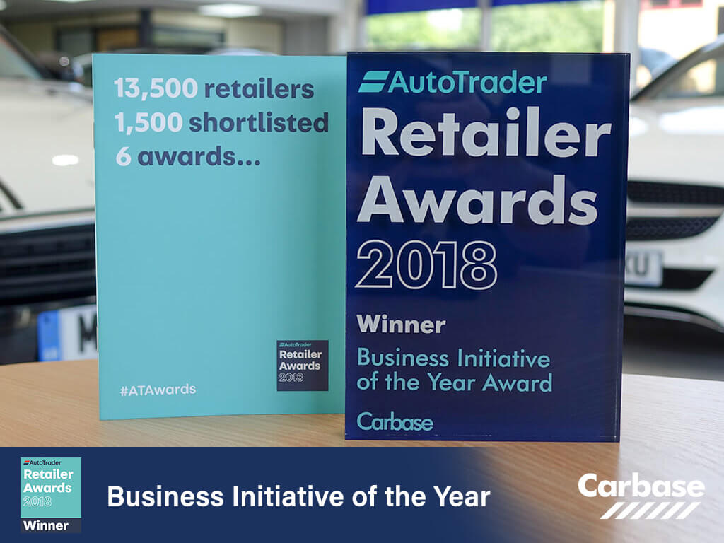 Autotrader business initiative of the year award